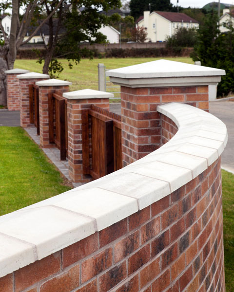 Precast Wall Coping : Precast products concrete wall copings northern ireland